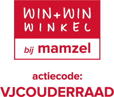 Win-Win winkel bij Mamzel & steun zo VJC Ouderraad