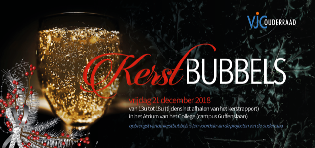 Kerstbubbels| 21 december 2018